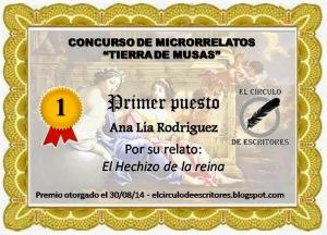Diploma Ana Lía Rodríguez 1